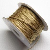 Nylon shamballa zsinór 0,8mm vastagságú - m160 - kb. 40m