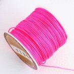Nylon shamballa zsinór 0,8mm vastagságú - m19 (pink) /m