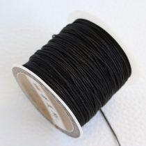 Nylon shamballa zsinór 0,8mm vastagságú - m47 (fekete) /m