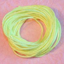 Nylon shamballa zsinór 1mm vastagságú - m58 sárga - 5m